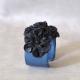 Bracelet manchette cuir | Amarante Parfums