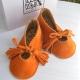 Chaussons bébé | Amarante