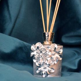 Arbre à parfums argent martelé
