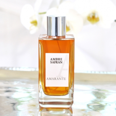 ambre safran eau de toilette amarante parfums